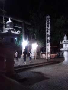 After the Iwamizawa Festival in the city, there is another festival at the Iwamizawa Temple that ends at night.